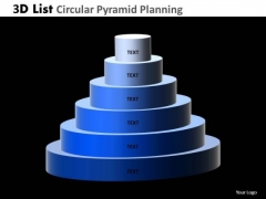 PowerPoint Process Business Circular Pyramid Planning Ppt Designs