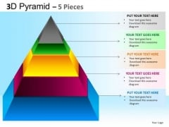 PowerPoint Process Business Competition Pyramid Ppt Slides
