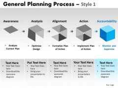 PowerPoint Process Business Success General Planning Process Ppt Templates