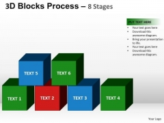 PowerPoint Process Chart Blocks Process Ppt Design