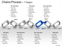 PowerPoint Process Chart Chains Ppt Process
