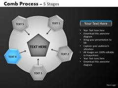 PowerPoint Process Chart Hub And Spokes Process Ppt Theme