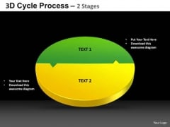 PowerPoint Process Circle Chart Cycle Process Ppt Themes