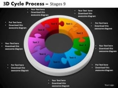 PowerPoint Process Circle Process Cycle Process Ppt Theme