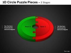 PowerPoint Process Circular Chart Circle Puzzle Diagram Ppt Slidelayout