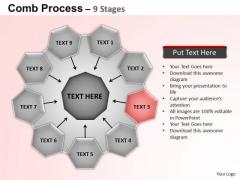 PowerPoint Process Circular Flow Diagram Ppt Backgrounds
