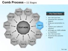 PowerPoint Process Circular Flow Diagram Ppt Templates