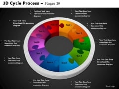 PowerPoint Process Circular Process Cycle Process Ppt Themes