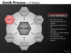 PowerPoint Process Company Hub And Spokes Process Ppt Template