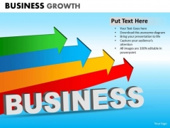 PowerPoint Process Company Success Business Growth Ppt Theme