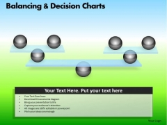 PowerPoint Process Corporate Growth Balancing Decision Charts Ppt Presentation