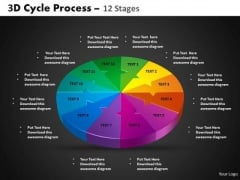 PowerPoint Process Cycle Chart Cycle Process Ppt Process