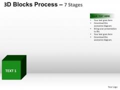 PowerPoint Process Diagram Blocks Process Ppt Backgrounds