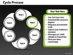 PowerPoint Process Diagram Cycle Process Ppt Theme