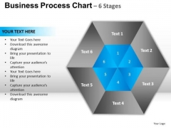 PowerPoint Process Diagram Hexagon Pie Chart Ppt Presentation Designs