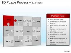 PowerPoint Process Diagram Puzzle Process Ppt Slide