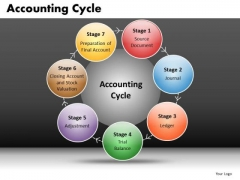 PowerPoint Process Diagram With 7 Spherical Stages Ppt Slides
