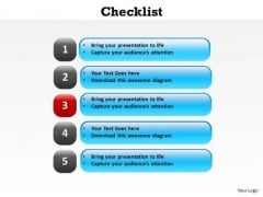 PowerPoint Process Download Checklist Ppt Templates