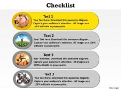 PowerPoint Process Download Checklist Ppt Themes