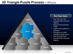 PowerPoint Process Download Triangle Puzzle Ppt Slide Designs