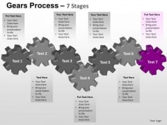 PowerPoint Process Editable Gears Process Ppt Slidelayout