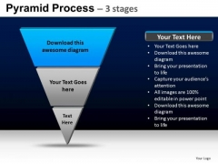 PowerPoint Process Editable Pyramid Process Ppt Theme