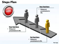PowerPoint Process Editable Steps Plan 3 Stages Style 2 Ppt Backgrounds