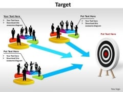 PowerPoint Process Editable Target Ppt Theme