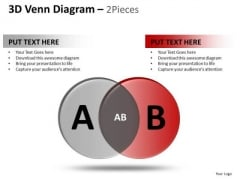 PowerPoint Process Editable Venn Diagram Ppt Themes