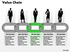 PowerPoint Process Education Business Value Chain Ppt Slide Designs