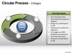 PowerPoint Process Education Circular Ppt Themes