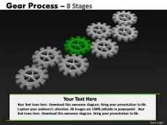 PowerPoint Process Education Gears Process Ppt Slide