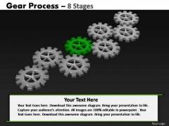 PowerPoint Process Education Gears Process Ppt Slide