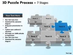 PowerPoint Process Education Puzzle Process Ppt Templates