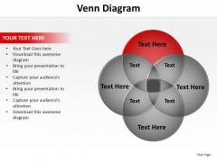 PowerPoint Process Education Venn Diagram Ppt Designs