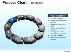 PowerPoint Process Global Process Chart Ppt Templates