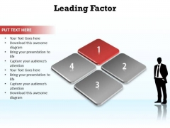 PowerPoint Process Growth Leading Factor Ppt Template