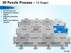 PowerPoint Process Growth Puzzle Process Ppt Design