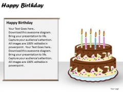 PowerPoint Process Happy Birthday Diagram Ppt Layouts