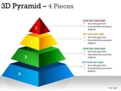 PowerPoint Process Leadership Pyramid Ppt Template
