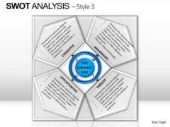 PowerPoint Process Leadership Swot Analysis Ppt Design