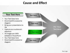 PowerPoint Process Marketing Cause And Effect Ppt Themes