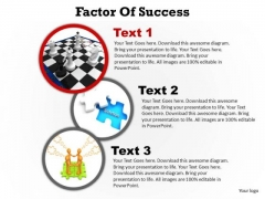 PowerPoint Process Marketing Factors Of Success Ppt Presentation