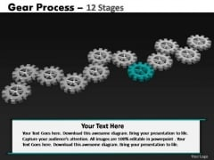 PowerPoint Process Marketing Gears Process Ppt Slides