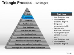 PowerPoint Process Marketing Triangle Process Ppt Themes
