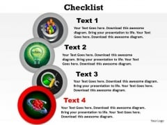 PowerPoint Process Process Checklist Ppt Presentation
