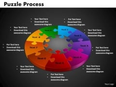 PowerPoint Process Puzzle Process Leadership Ppt Backgrounds