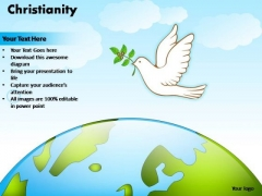 PowerPoint Process Sales Christianity Ppt Themes