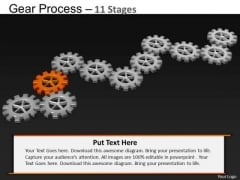 PowerPoint Process Sales Gears Process Ppt Templates