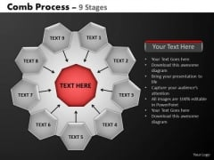 PowerPoint Process Sales Hub And Spokes Process Ppt Backgrounds